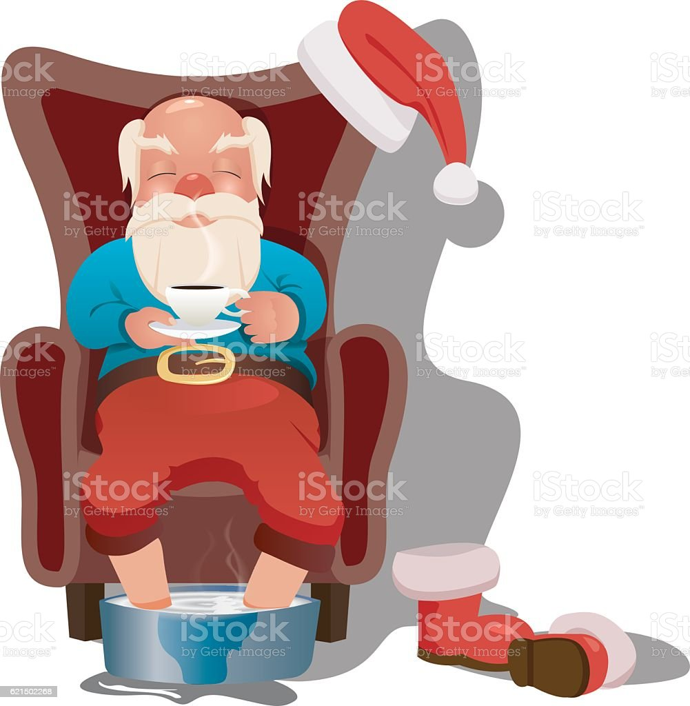 Santa claus on white background. Vector illustration for retro christmas santa claus on white background vector illustration for retro christmas – cliparts vectoriels et plus d'images de adulte libre de droits
