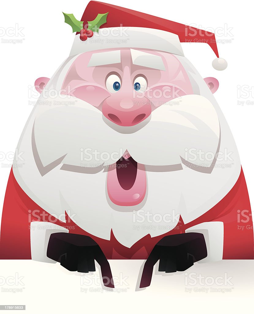 santa claus pointing royalty-free santa claus pointing stock vector art & more images of adult