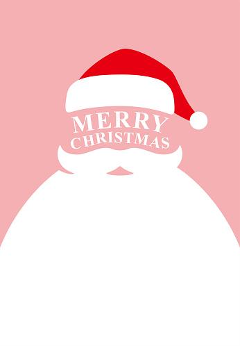 Santa claus poster, vector illustration