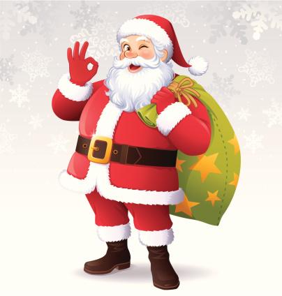 Santa Claus Showing OK