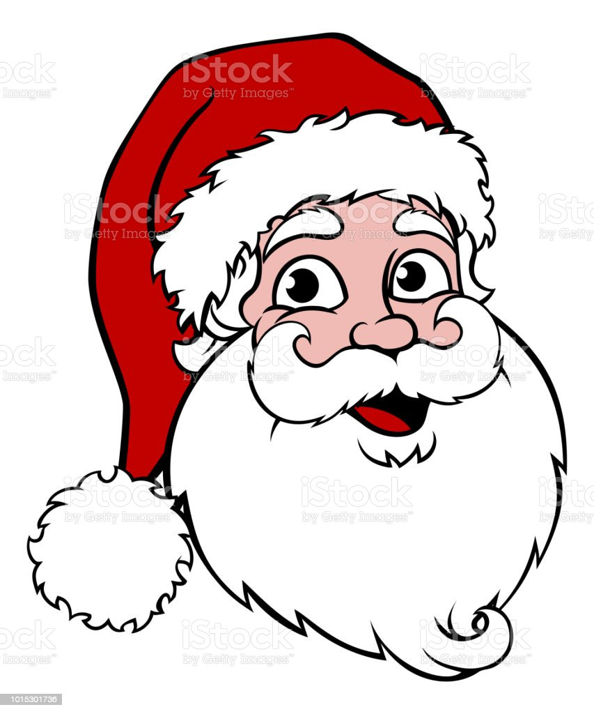 Santa Claus vector art illustration