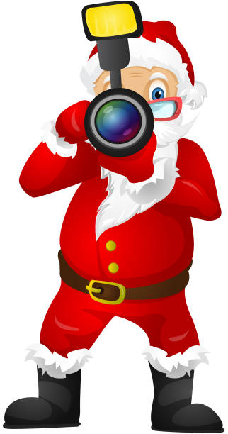 santa claus - old man hats pictures stock illustrations, clip art, cartoons, & icons