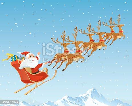 istock Santa Claus 495437674