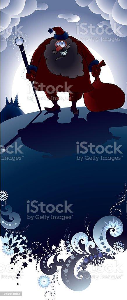 Santa Claus royalty-free santa claus stok vektör sanatı & arka planlar'nin daha fazla görseli