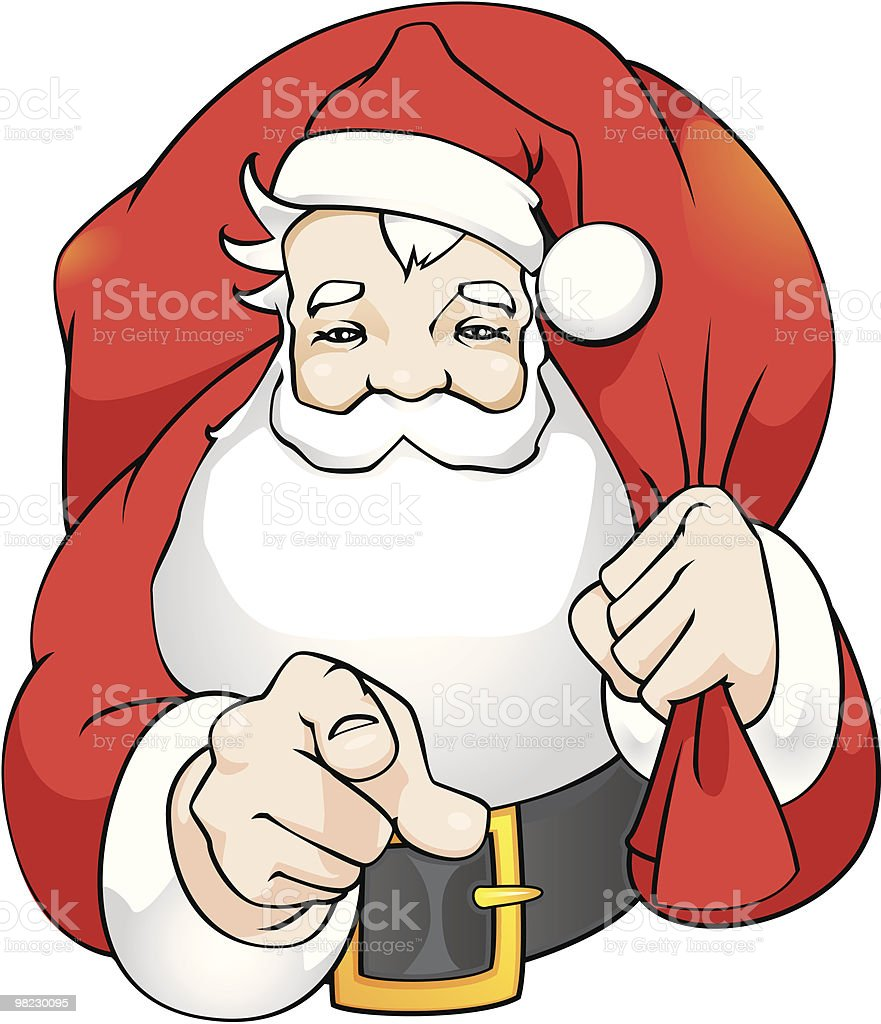 Santa Claus royalty-free santa claus stock vector art & more images of adult