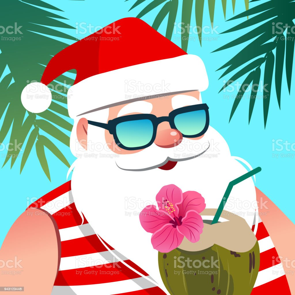 royalty free christmas in july clip art vector images rh istockphoto com Christmas in July Graphics Christmas in July Graphics