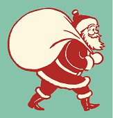 Santa Claus with Sack of Toys