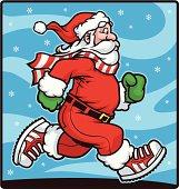 istock Santa Clause Run 165752963