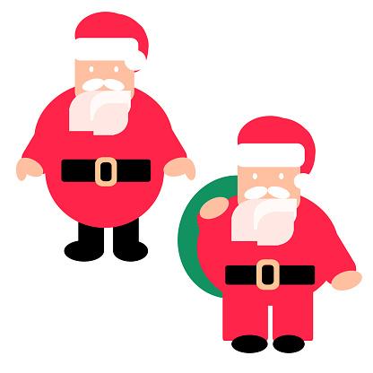 Santa ClausFlat Design