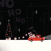 Santa driving a truck http://i681.photobucket.com/albums/vv179/myistock/xma.jpg