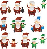 Santa Expressions