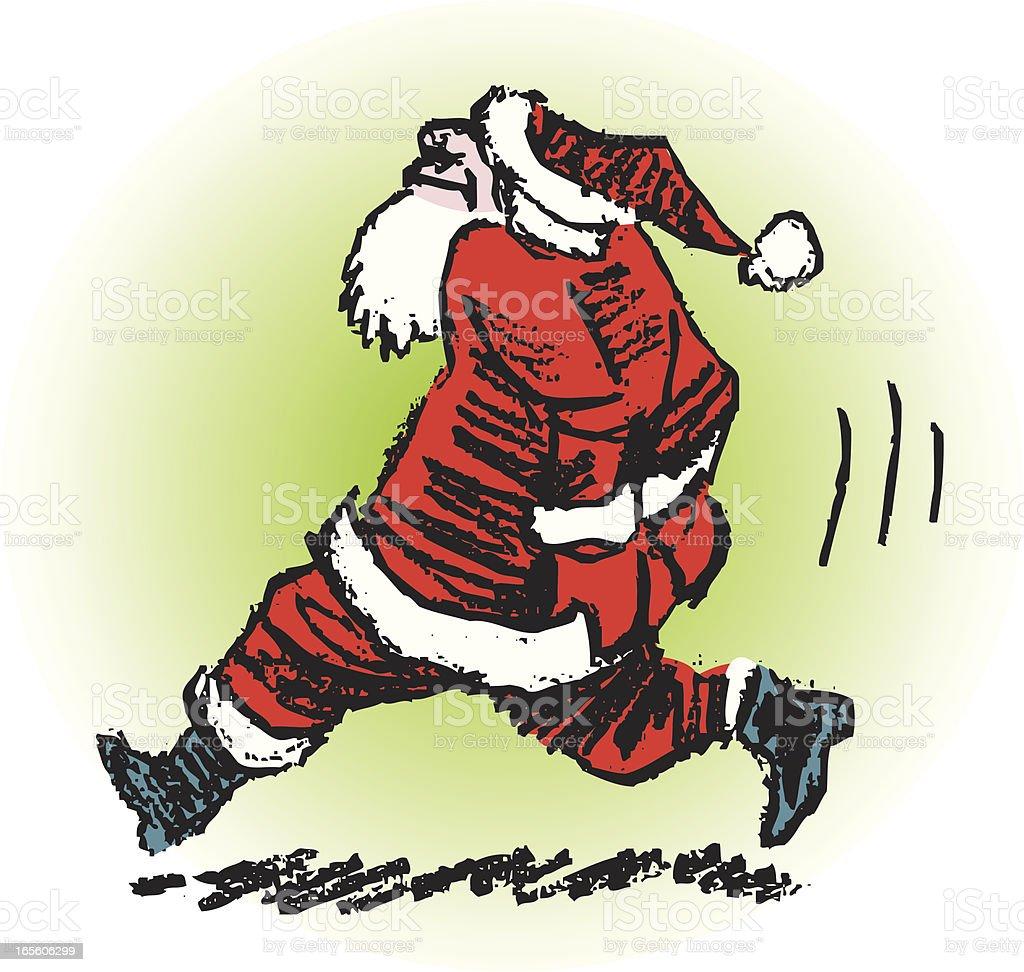 Santa Hat Eine Tracht Prügel Stock Vektor Art und mehr Bilder von ...