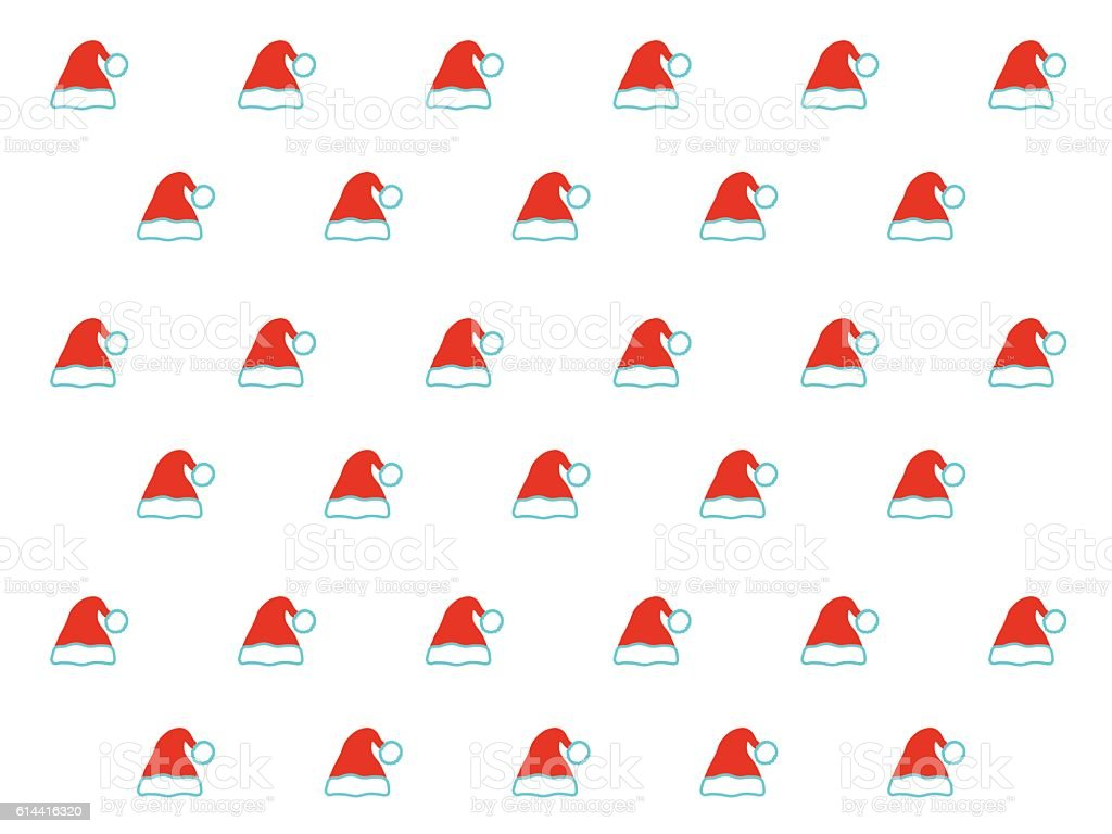 d857692e06b Santa hat pattern on white background royalty-free santa hat pattern on white  background stock