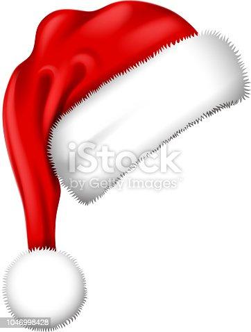 istock santa hat symbol 1046998428