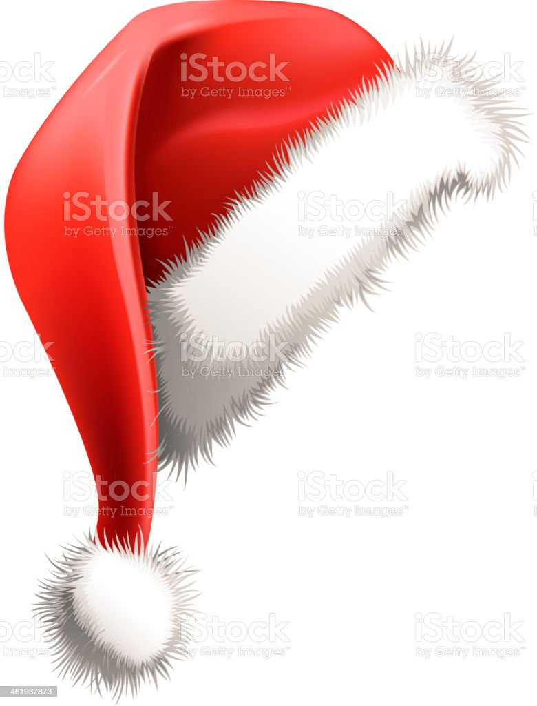 santa hat royalty-free stock vector art