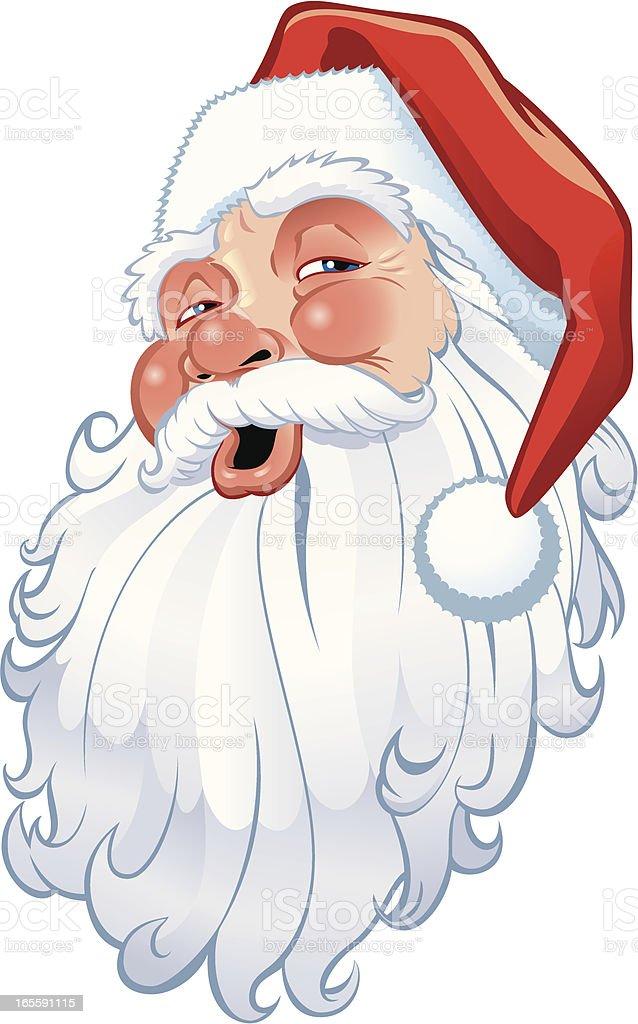 Santa Head royalty-free santa head stock vector art & more images of cartoon