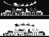 Santa's Sleigh. EPS 8.