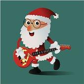 Santa is rock!