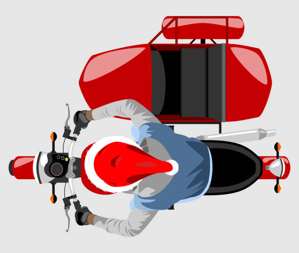 Best Motorcycle Sidecar Illustrations, Royalty-Free Vector