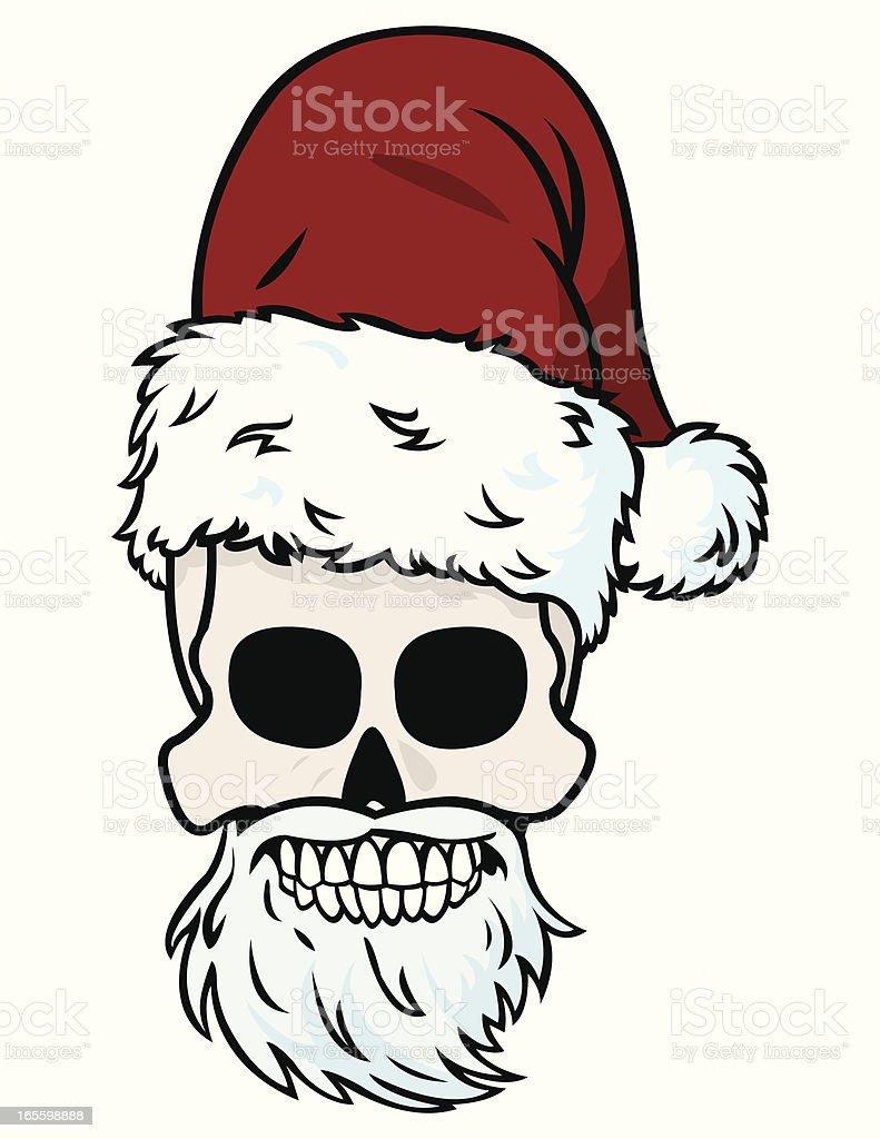 Santa Skull royalty-free santa skull stock vector art & more images of cartoon