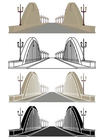 Santa Tereza Viaduct in Belo Horizonte, Brazil