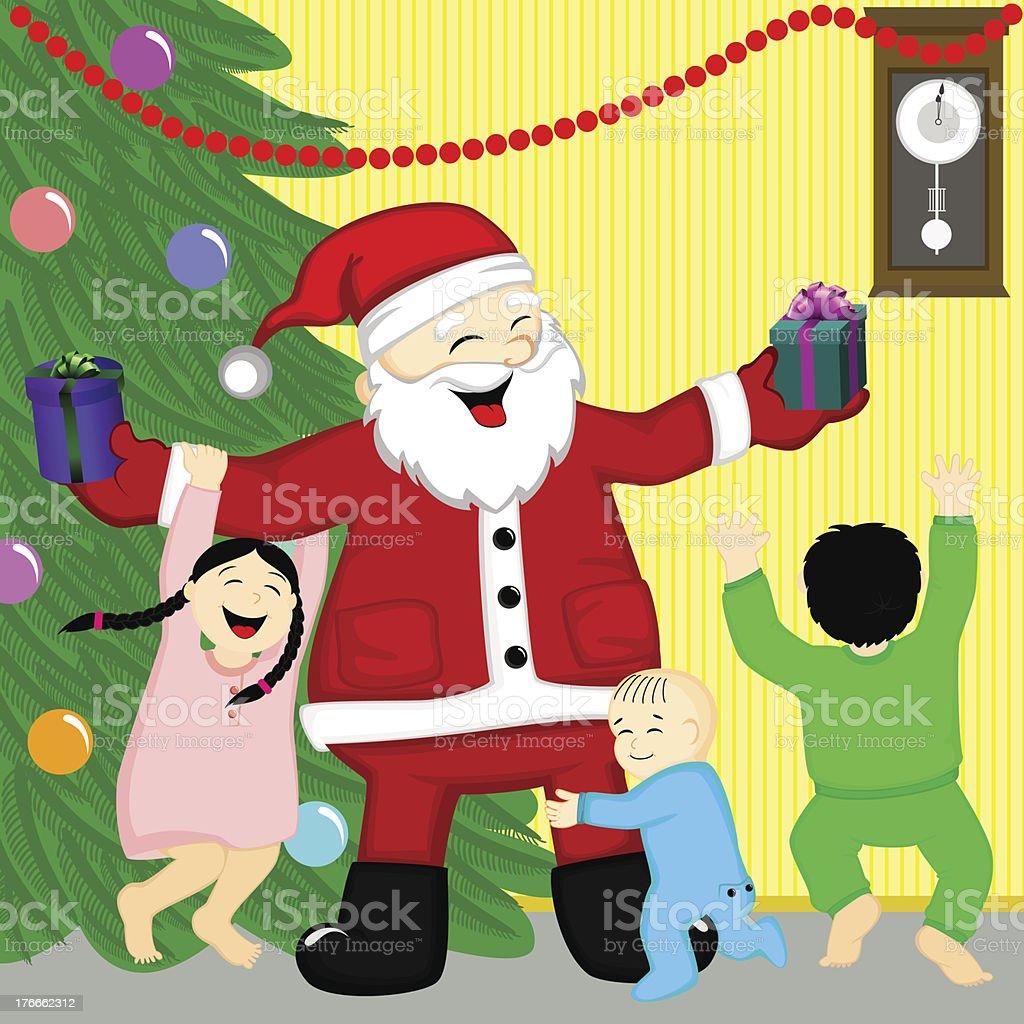 Santa royalty-free santa stock vector art & more images of anticipation