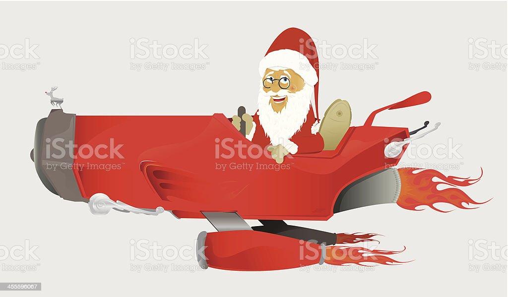 Santas car royalty-free santas car stock vector art & more images of alternative energy