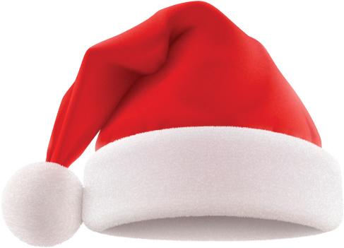 Santas Hat Stockvectorkunst en meer beelden van Clipart