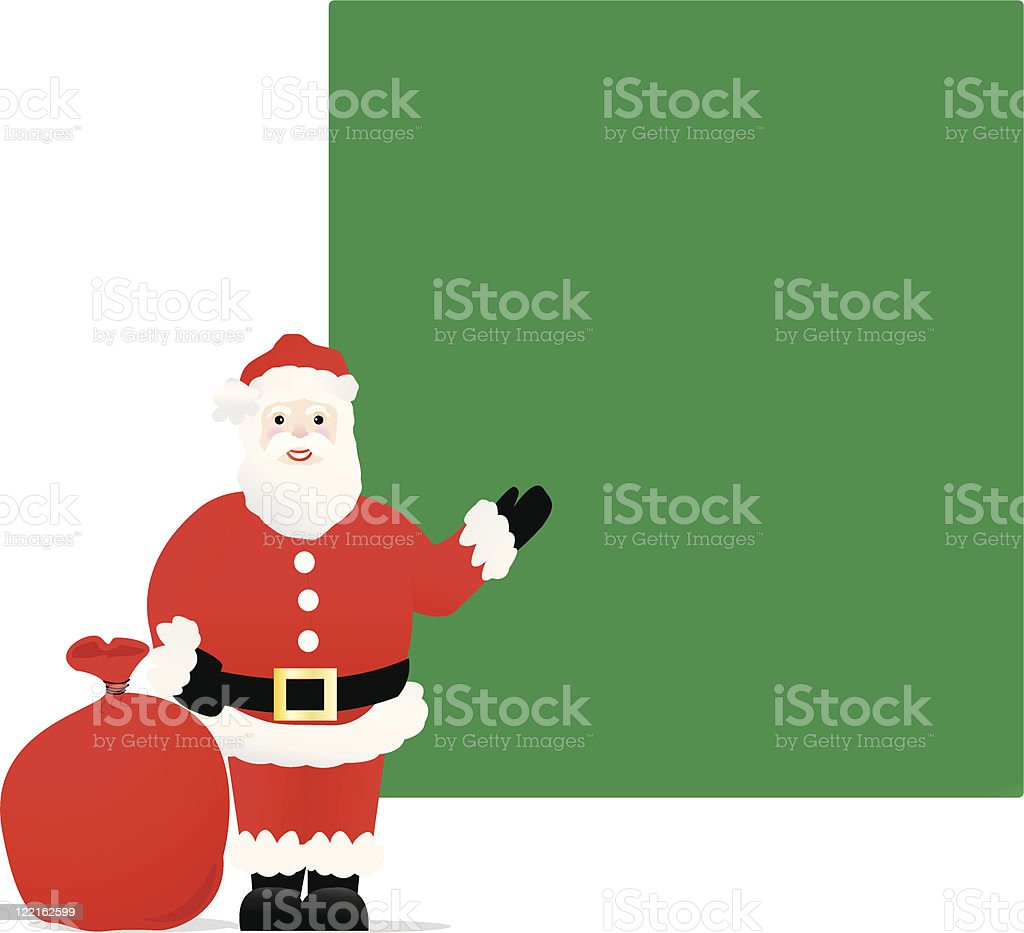 Santa's Invite royalty-free santas invite stock vector art & more images of announcement message