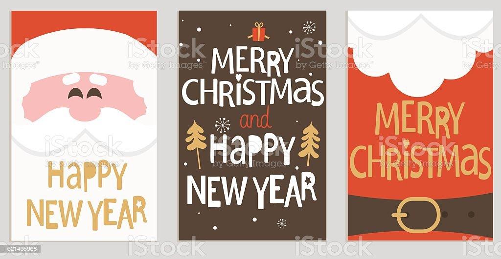 Santa's message banners. Lizenzfreies santas message banners stock vektor art und mehr bilder von baum