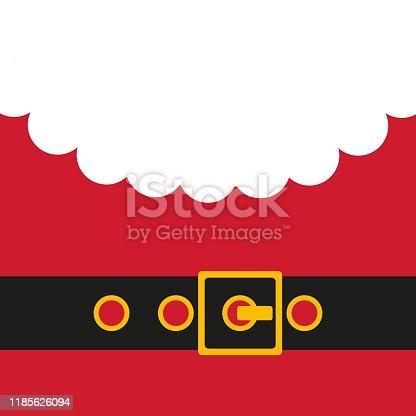 istock Santa's message banner.Vector illustration 1185626094