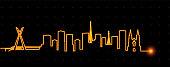 Sao Paulo Light Streak Skyline