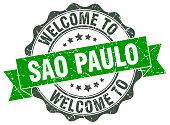 Sao Paulo round ribbon seal