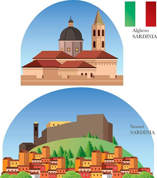 sardinien - pompeii stock-grafiken, -clipart, -cartoons und -symbole