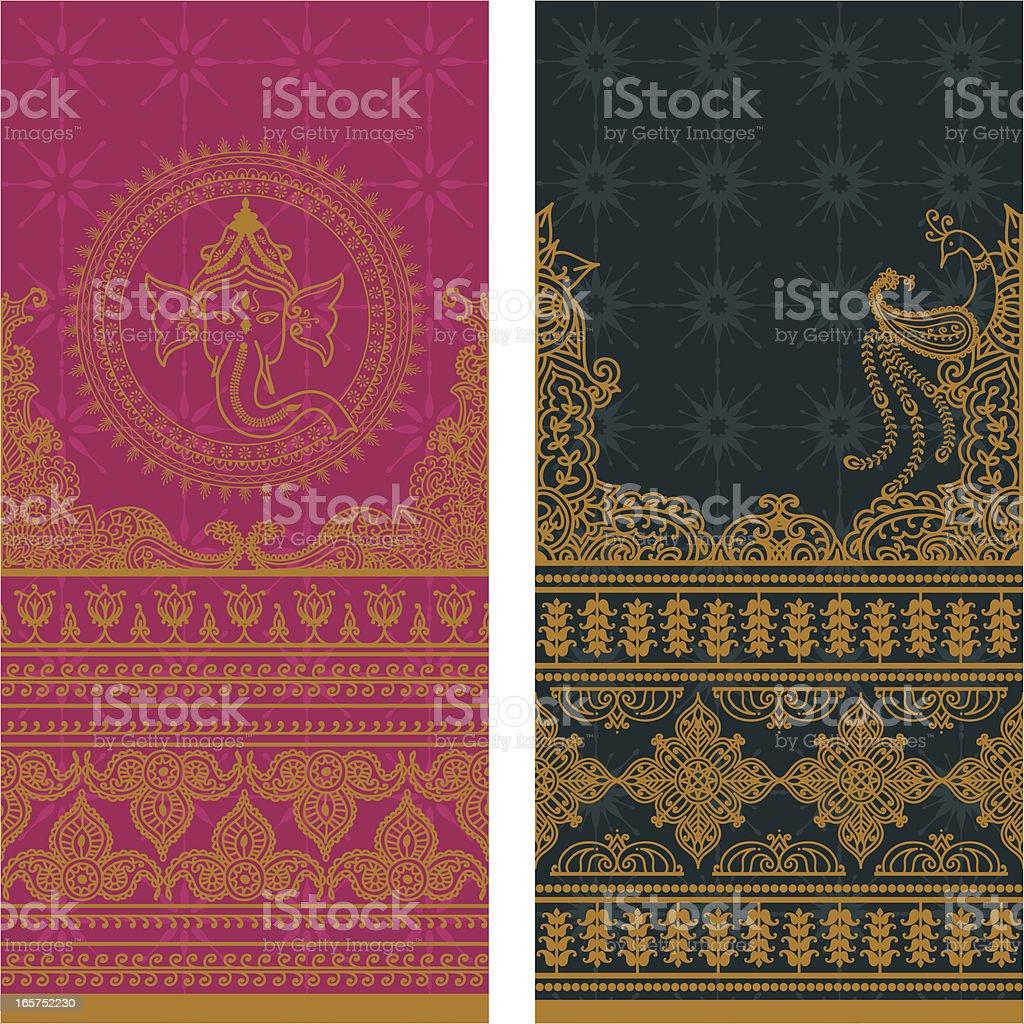 Sari Borders Tall - Gold