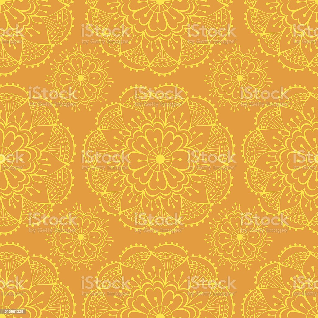 sari pattern vector art illustration