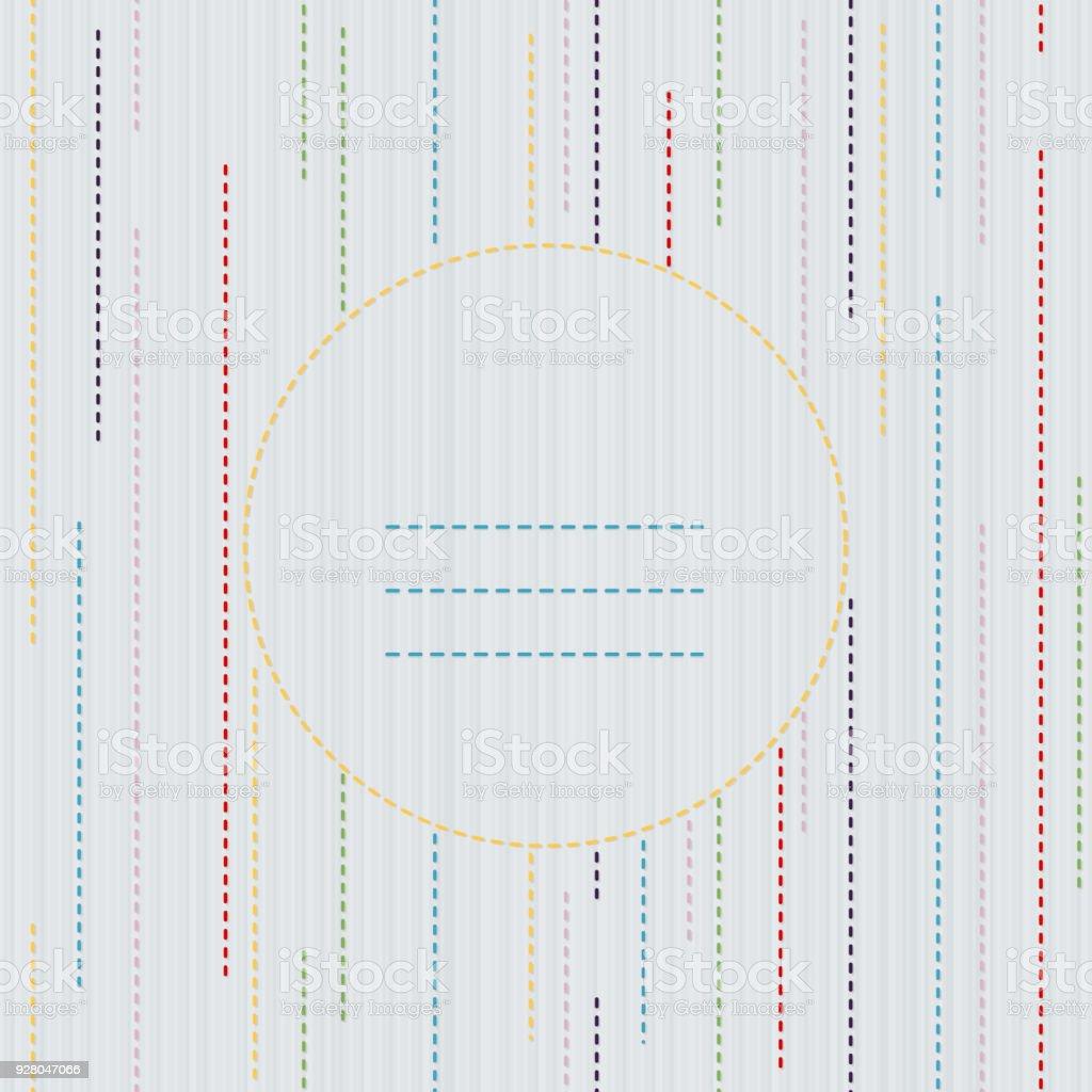 Sashiko Textur Mit Textfreiraum Kimonomuster Stock Vektor Art und ...