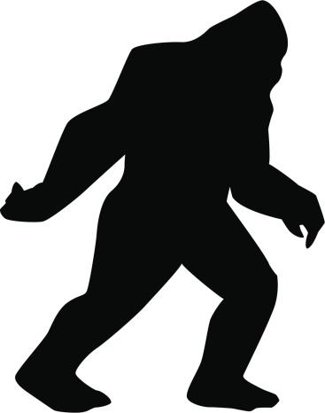Sasquatch silhouette