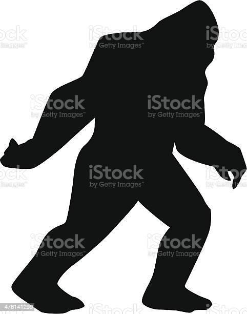 Sasquatch silhouette vector id476141299?b=1&k=6&m=476141299&s=612x612&h=r7qpun9gaizbufvfsia 20br ogug9keiew awmf24i=