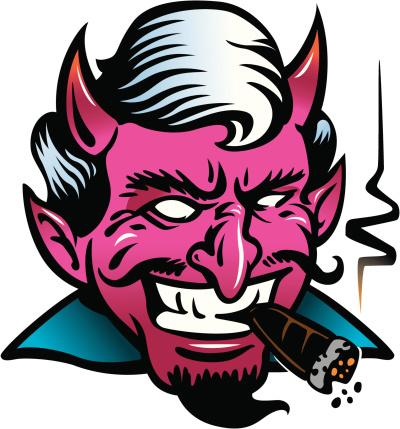 Satan Mr Smokey