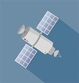 istock Satelitte icon 869372068