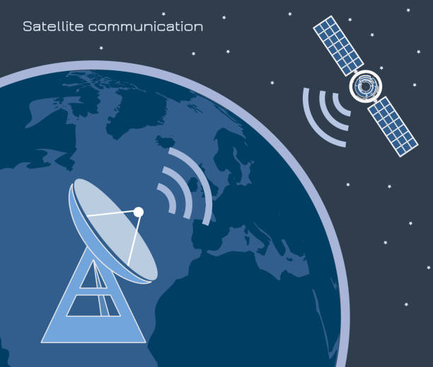 Satelliten-Kommunikation 3 – Vektorgrafik