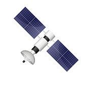 istock Satellite vector design illustration isolated on white background 1193010052
