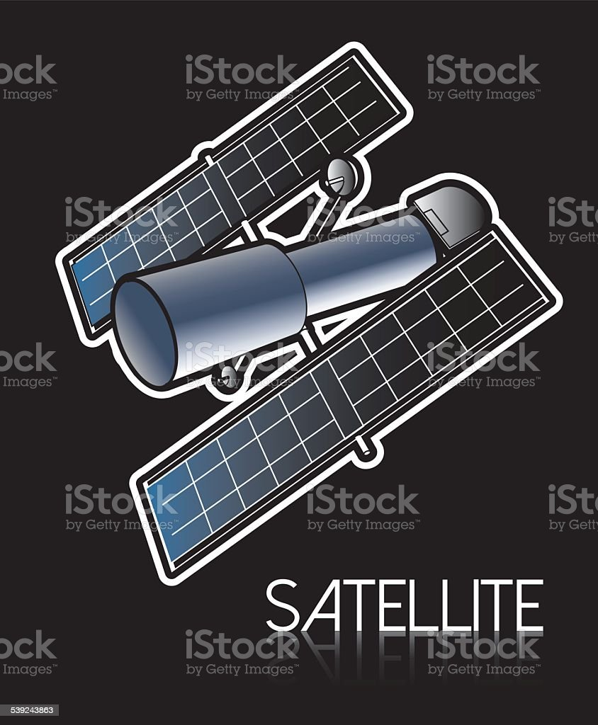 satellite royalty-free satellite stock vector art & more images of antenna - aerial
