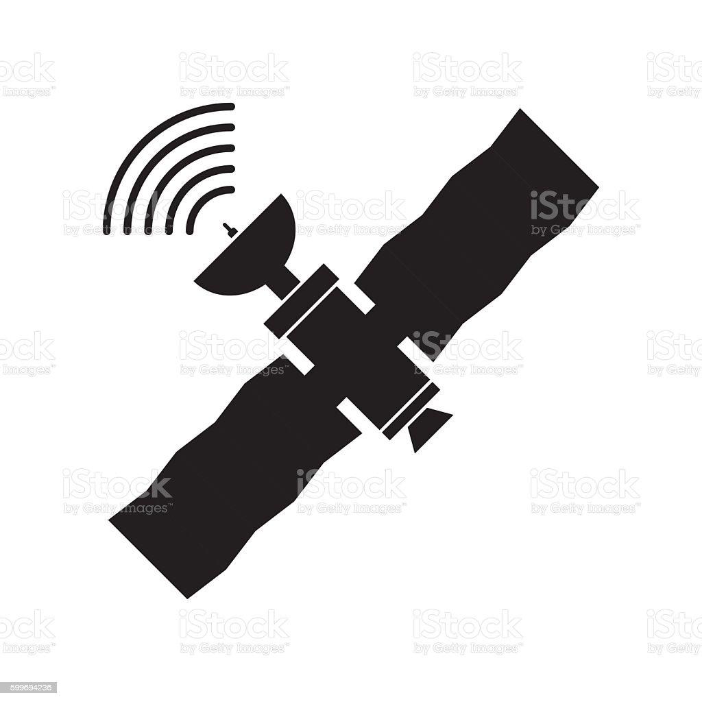 Gps Satellite Vector Illustration Stock Vector Art & More ...