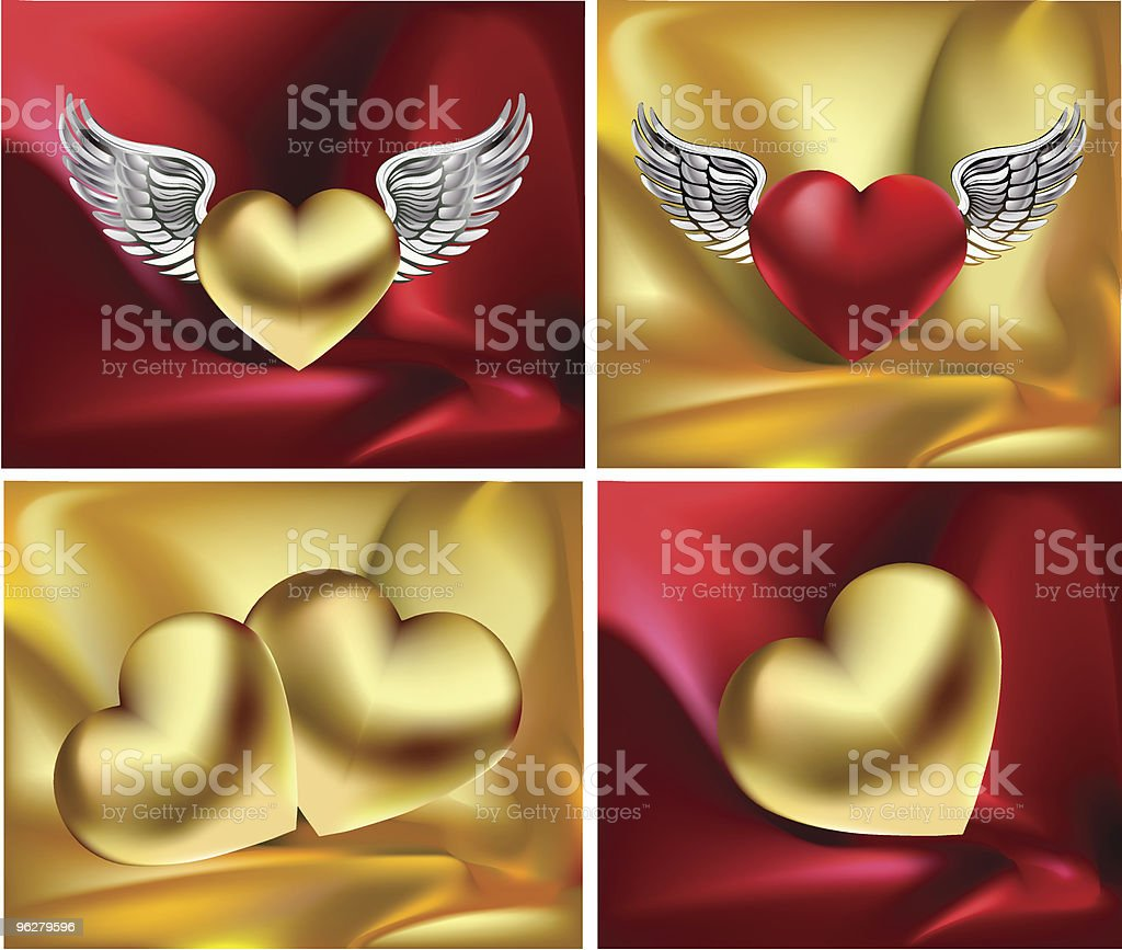 satin love royalty-free satin love stock vector art & more images of animal wing