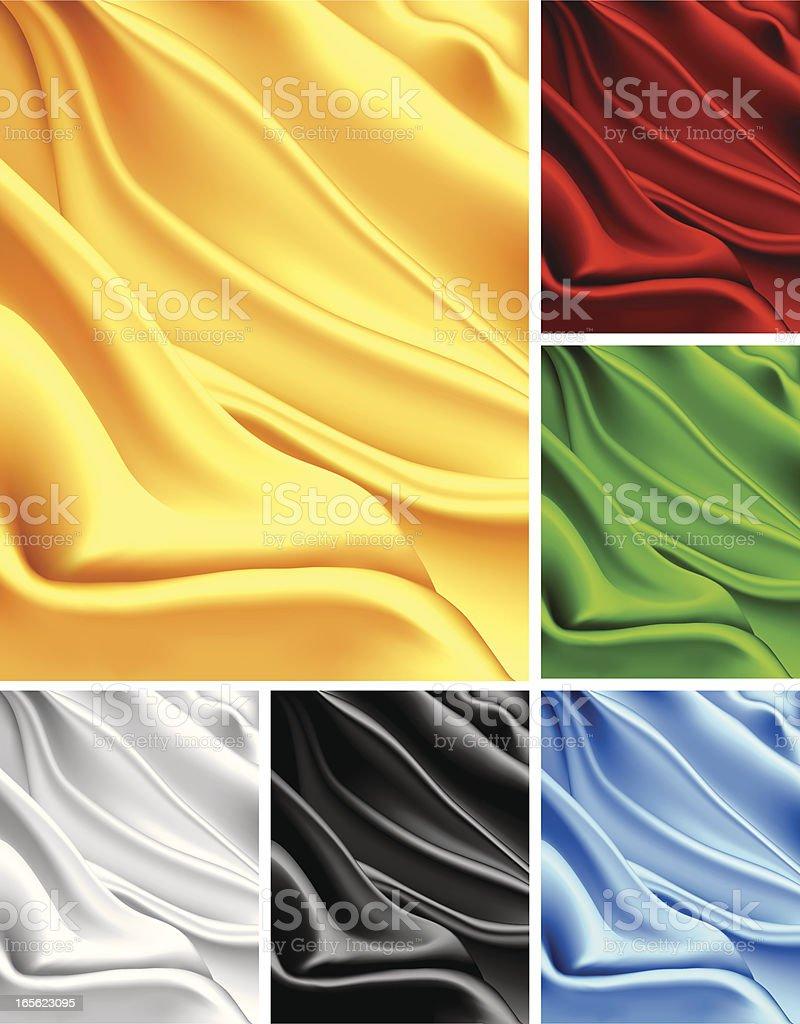 Satin royalty-free stock vector art