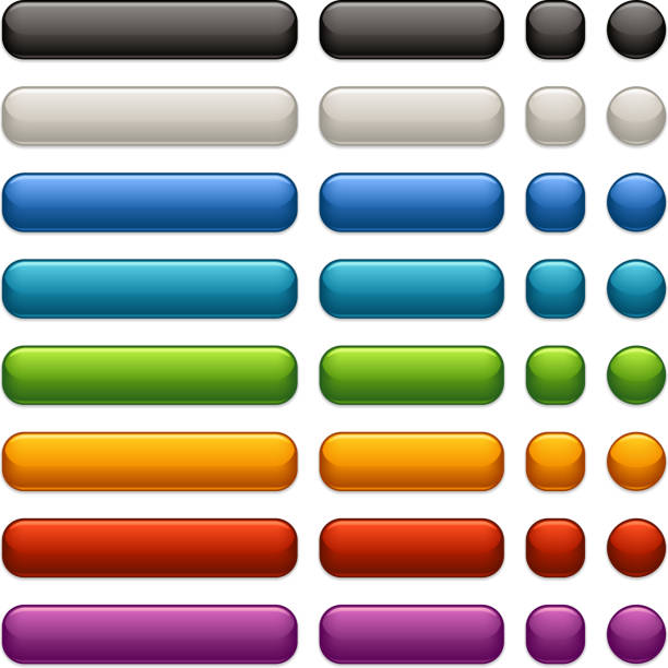satin web buttons - 按鈕 幅插畫檔、美工圖案、卡通及圖標