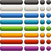 Satin Web Buttons