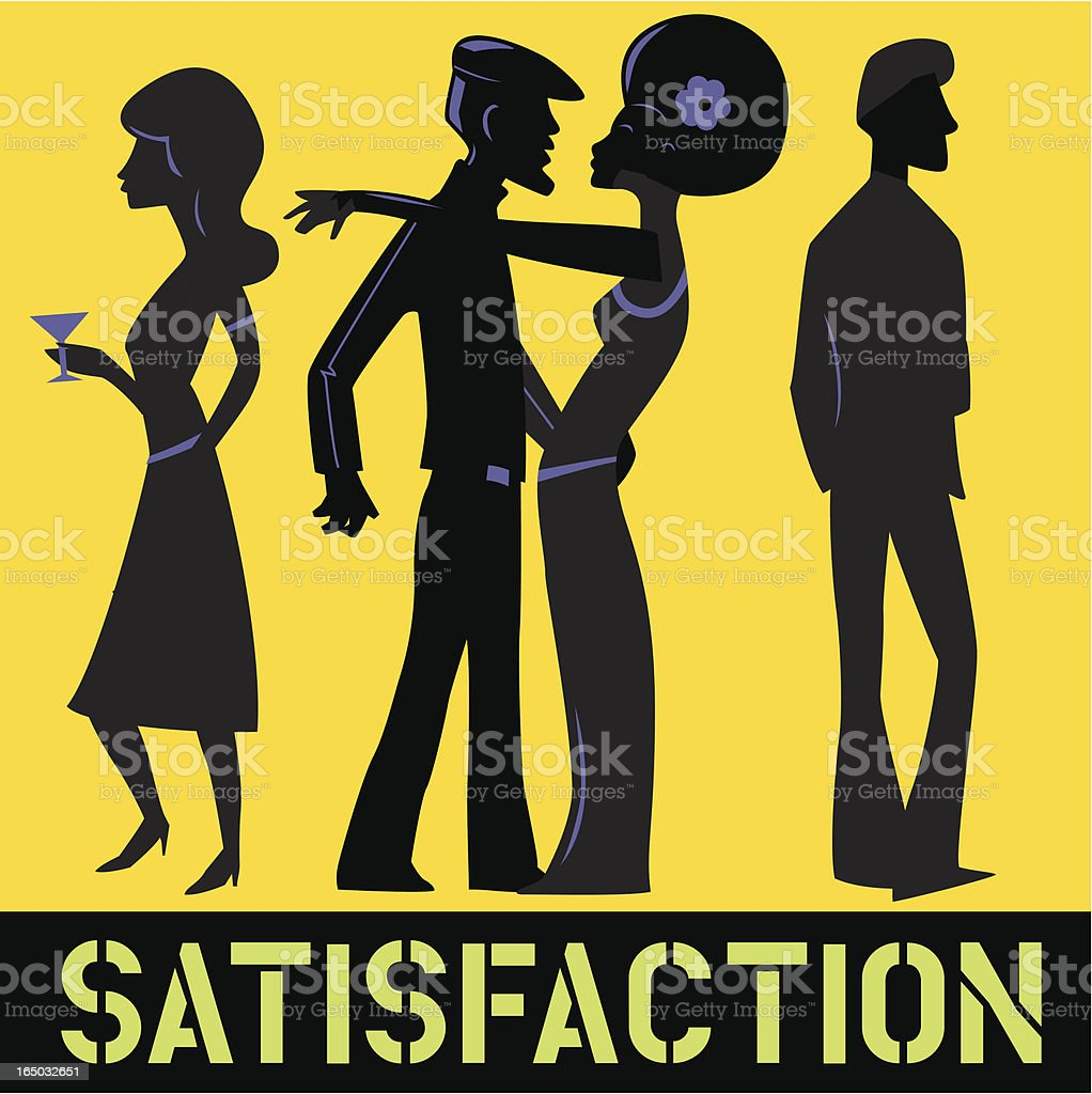 Satisfaction royalty-free satisfaction stock vector art & more images of 20-24 years
